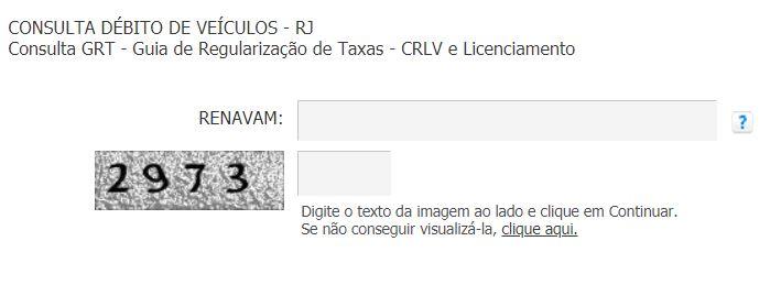 Consulta Licenciamento RJ