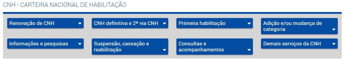Agendamento CNH Poupatempo